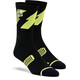 100% Bolt Performance Socks Lime/Black